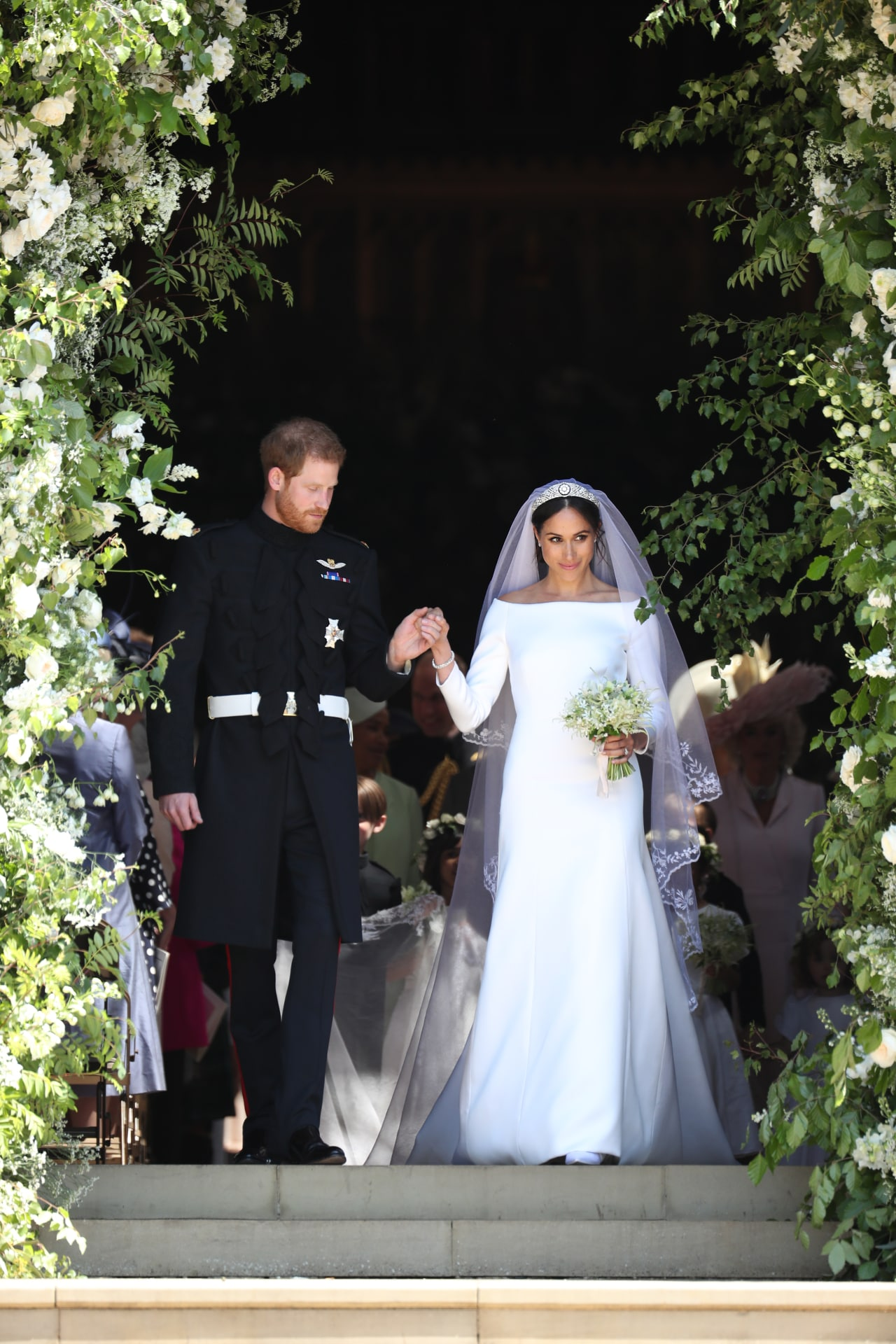 Inside Prince Harry and Meghan Markle's 2018 wedding
