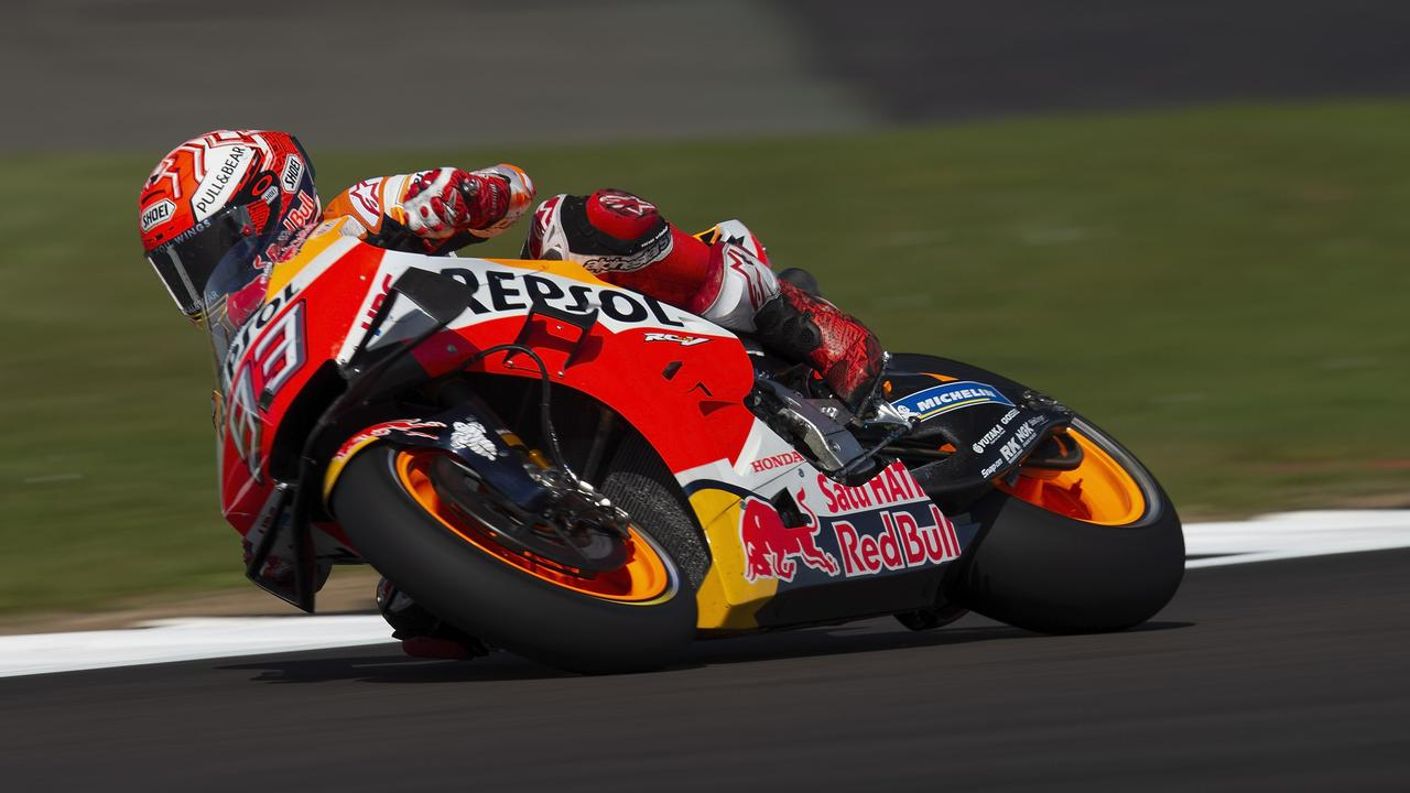 Another pole for Marc Marquez at Silverstone.