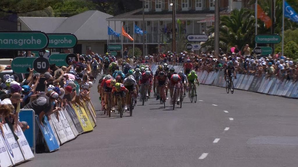 Tour Down Under Hansgrohe Stage 3 Highlights
