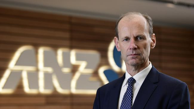 ANZ CEO Shayne Elliot said the bank was working hard to repay customers. Picture: AAP Image/Bianca De Marchi