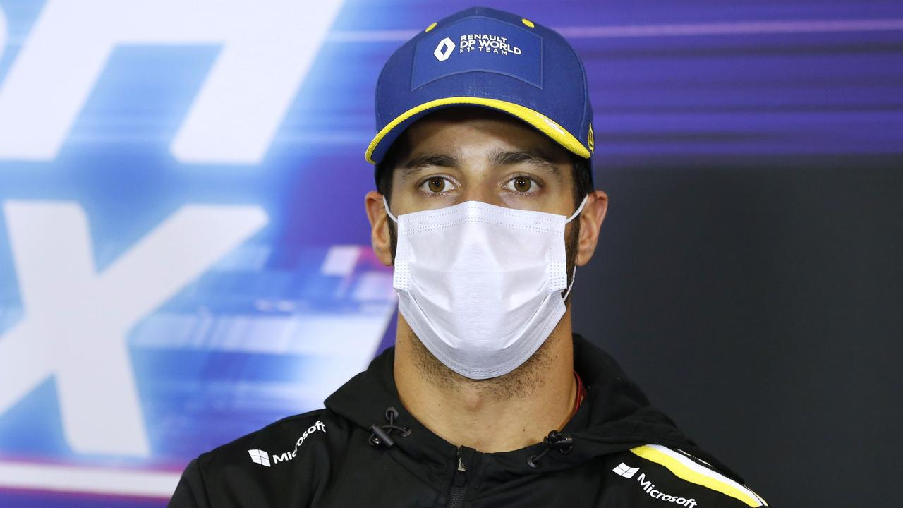 Daniel Ricciardo will start from P5 on the grid.