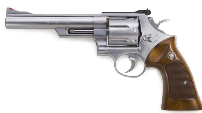 A .44 calibre revolver, similar to the firearm found by police yesterday.