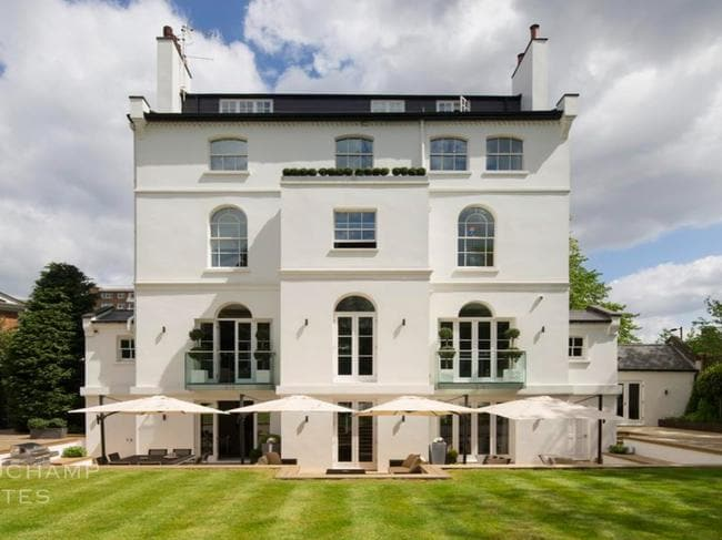 The home spans across five levels. Picture: Beauchamp