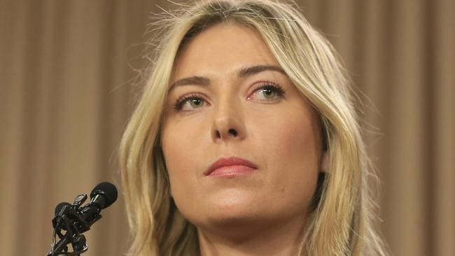 Maria Sharapova has been banned from tennis for two years.