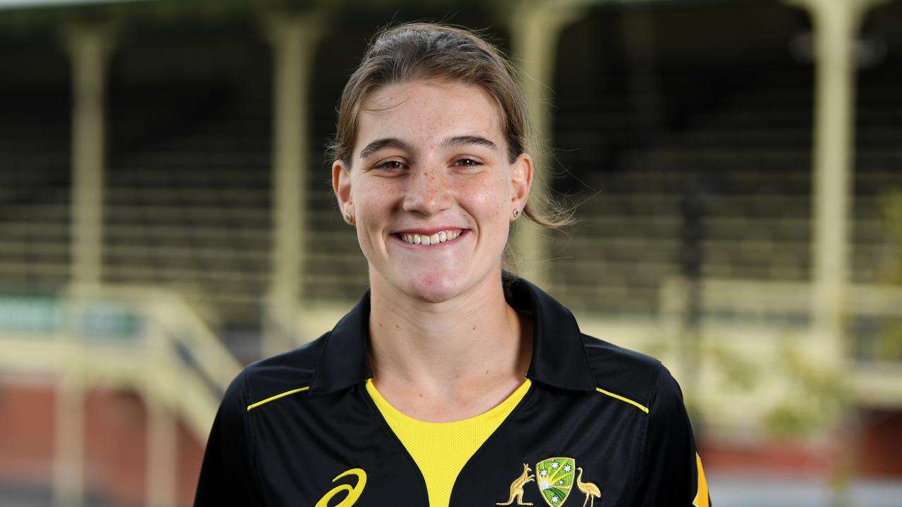 Annabel Sutherland could make her international debut in the World Cup. Photo: James Ross/AAP Image.