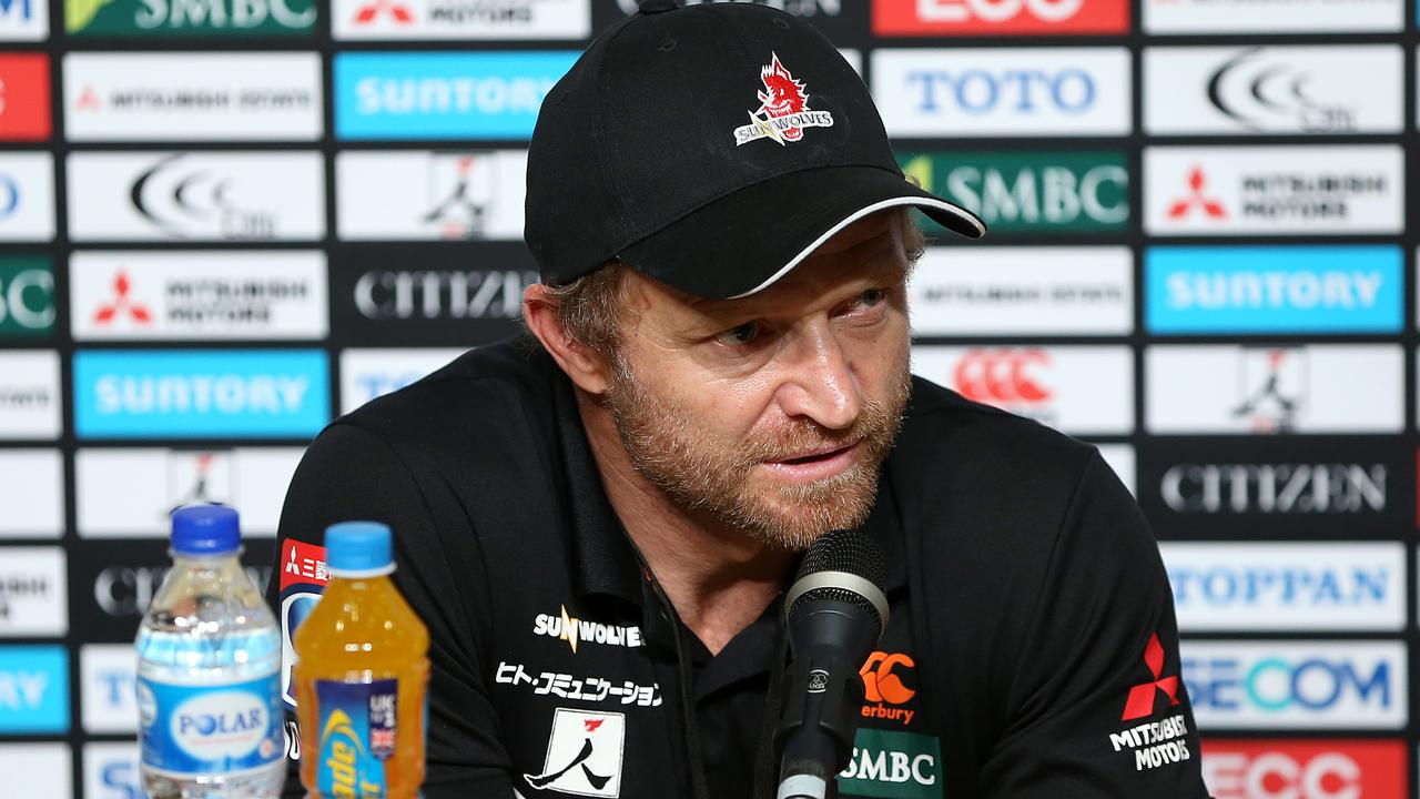 Former Sunwolves head coach Tony Brown pins the club's exile on South Africa.
