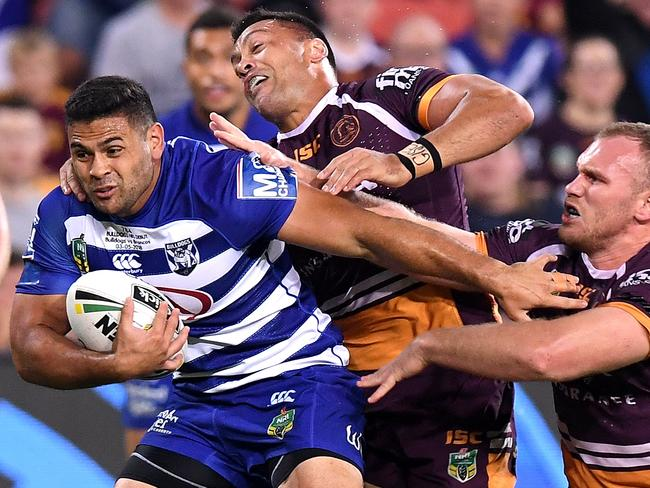 Unleashed from the doghouse, Rhyse Martin could do real damage. Picture: Getty Images