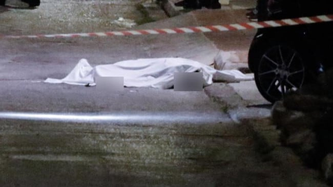 He was reportedly shot in the chest in a seaside suburb of Athens, Greek police say.