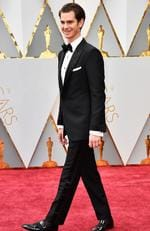 Actor Andrew Garfield attends the 89th Annual Academy Awards. Picture:Frazer Harrison/Getty Images