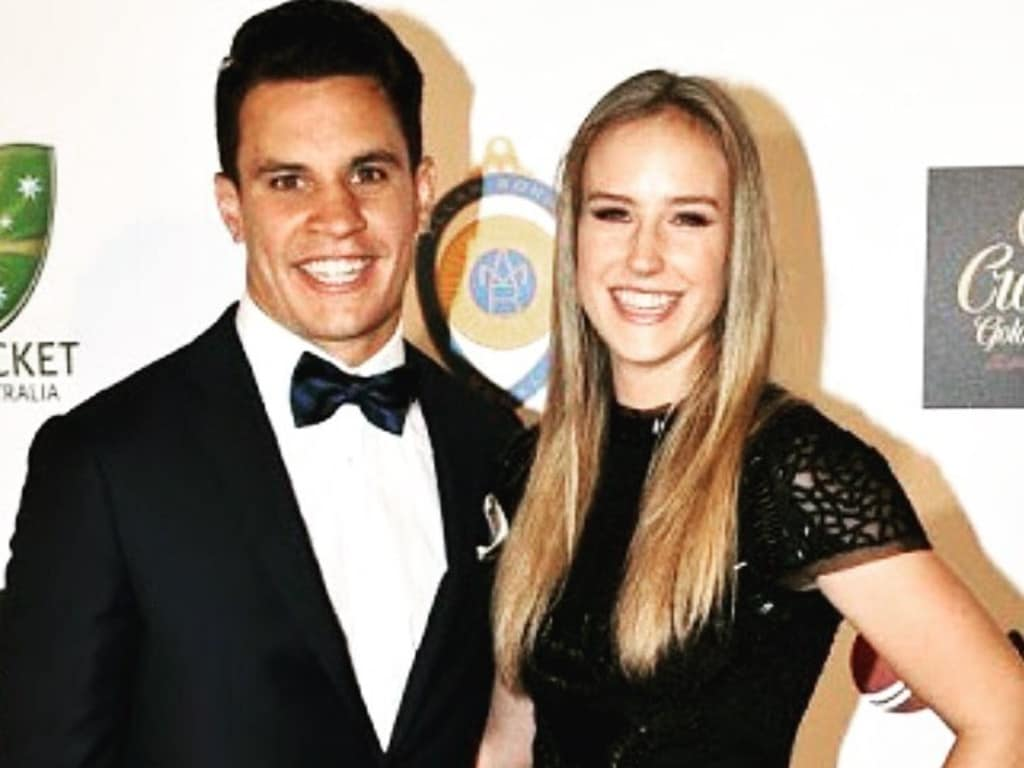 Ellyse Perry and Matt Toomua split