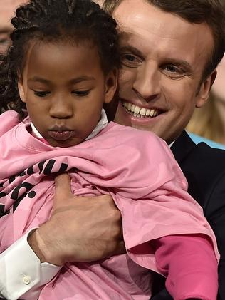 Emmanuel Macron has formed a vast coalition of supporters but some say he doesn't' go far enough in proposing a change to the status quo. Picture: AFP PHOTO / JEAN-SEBASTIEN EVRARD