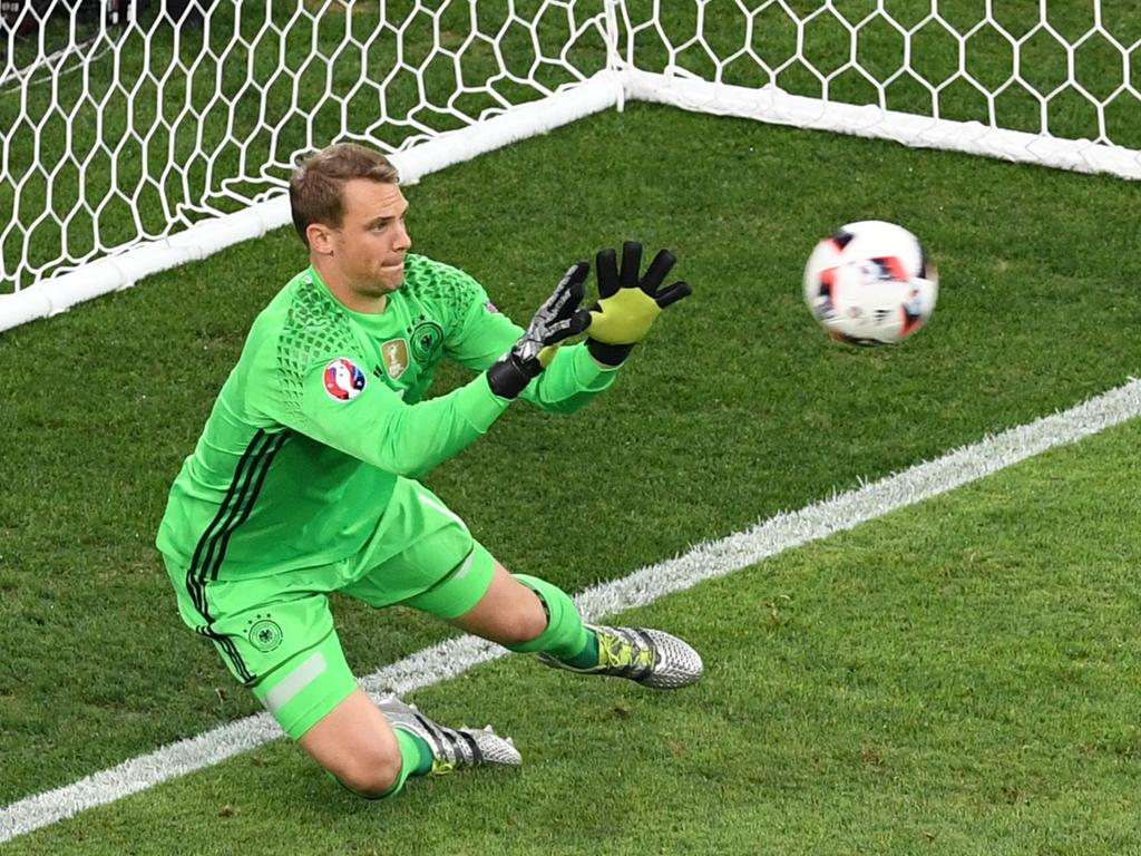 Manuel Neuer has made Germany's initial World Cup squad.