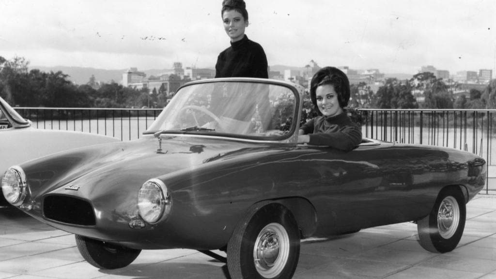 The Lightburn Zeta, the strange Adelaide micro car | Adelaide Now