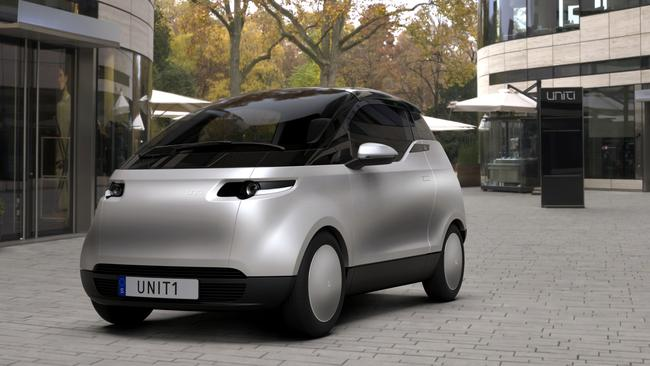 The Uniti One is a pint-sized electric city car.