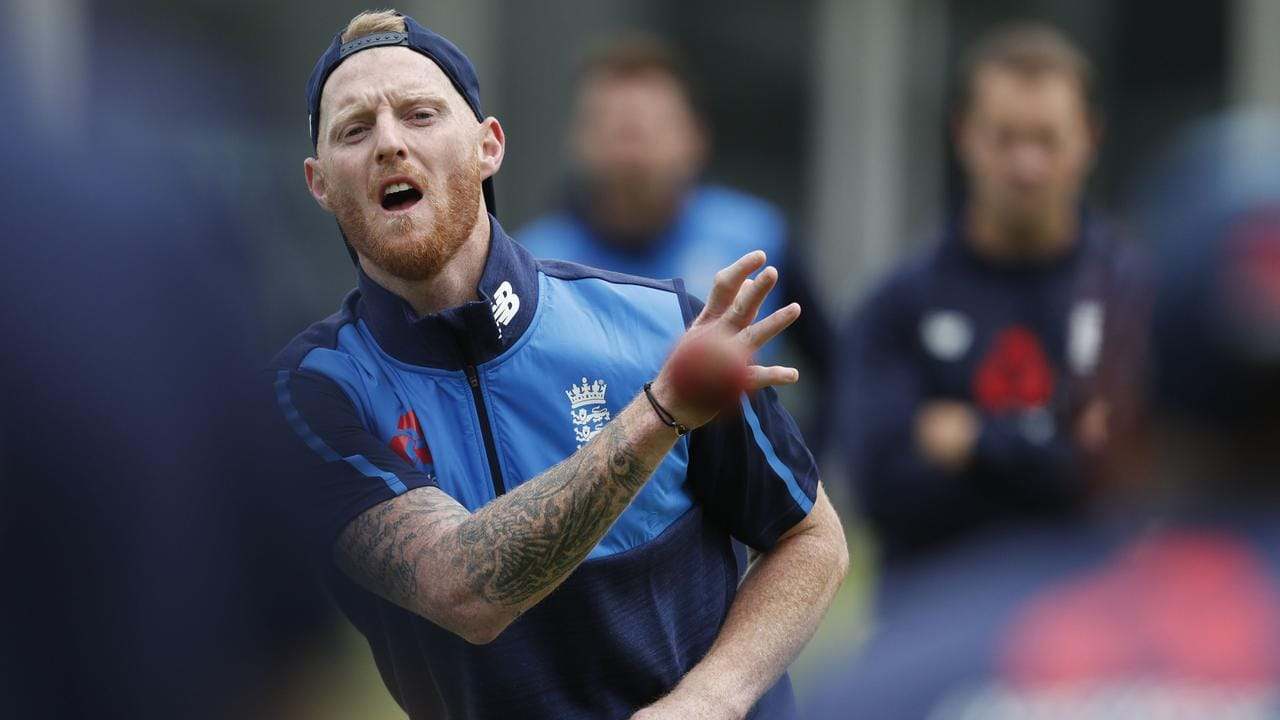 Stokes during fielding drills at Lord's ahead of the first Test against Pakistan.