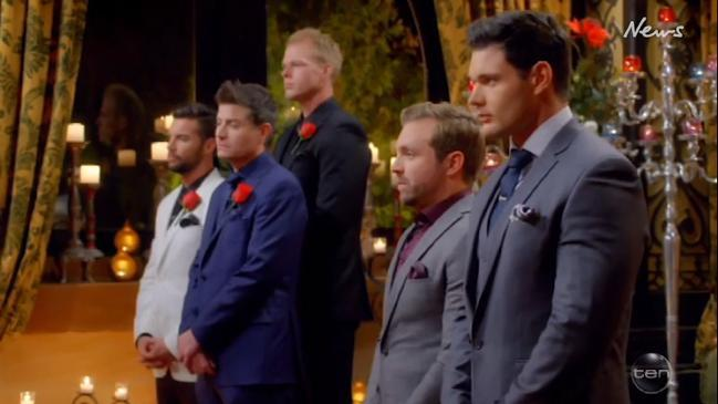 James is sent home on The Bachelorette