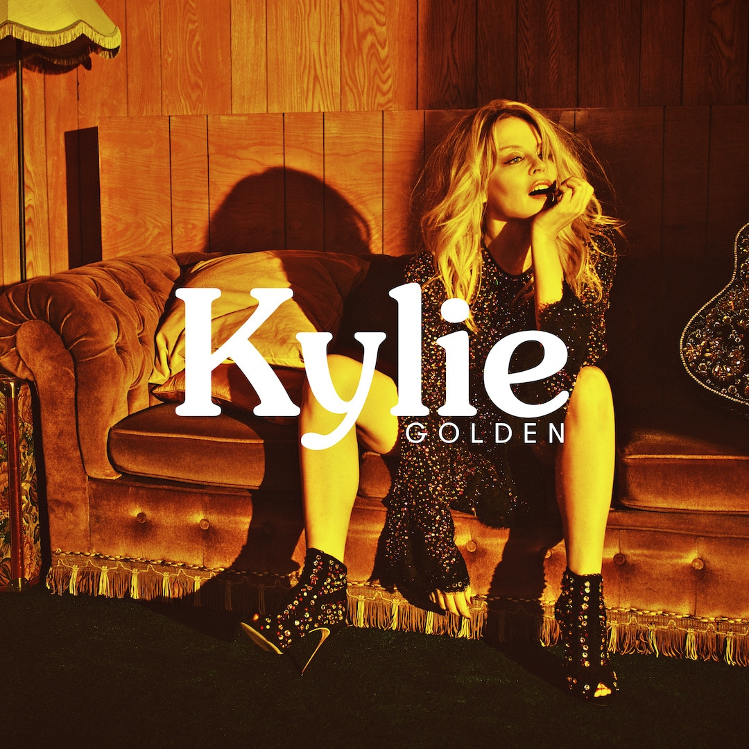 The cover of Golden, the latest album by Kylie Minogue.