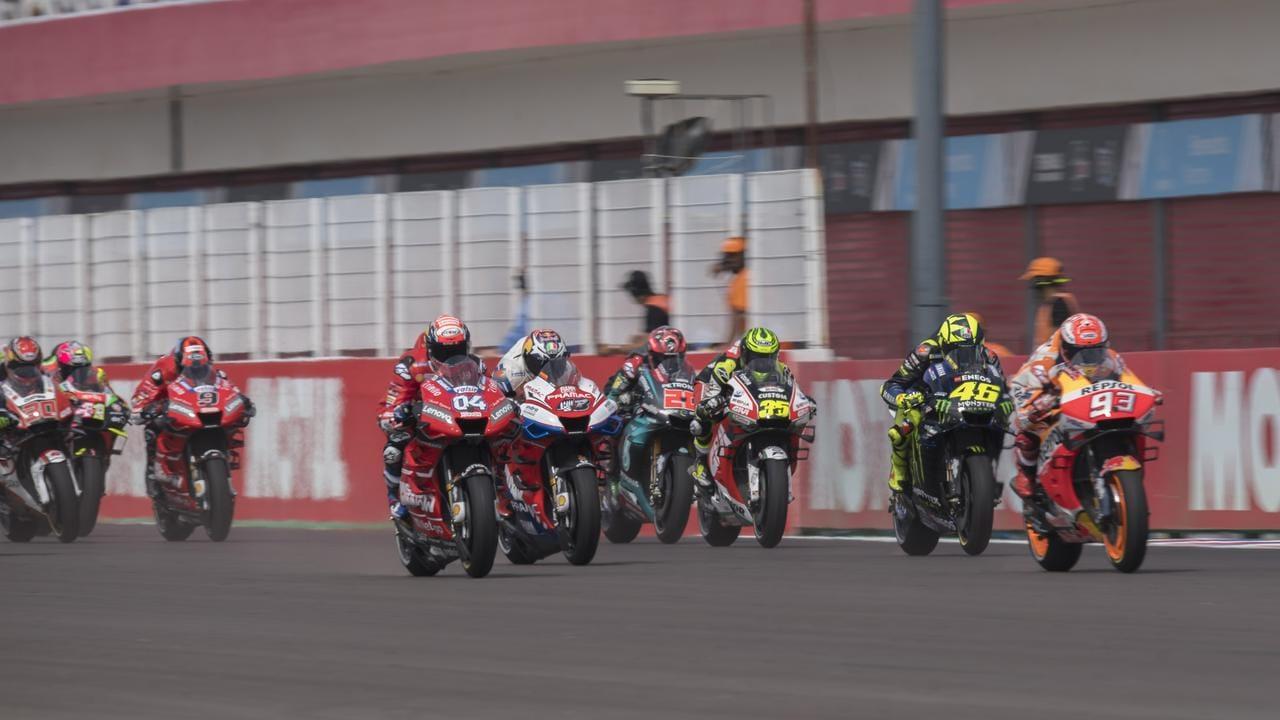 Argentina's April MotoGP event has been postponed to November.