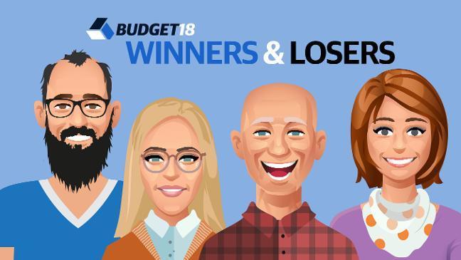Budget 2018 Winner & Losers