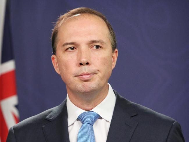 Regulatory review ... Health Minister Peter Dutton. Picture: Hollie Adams