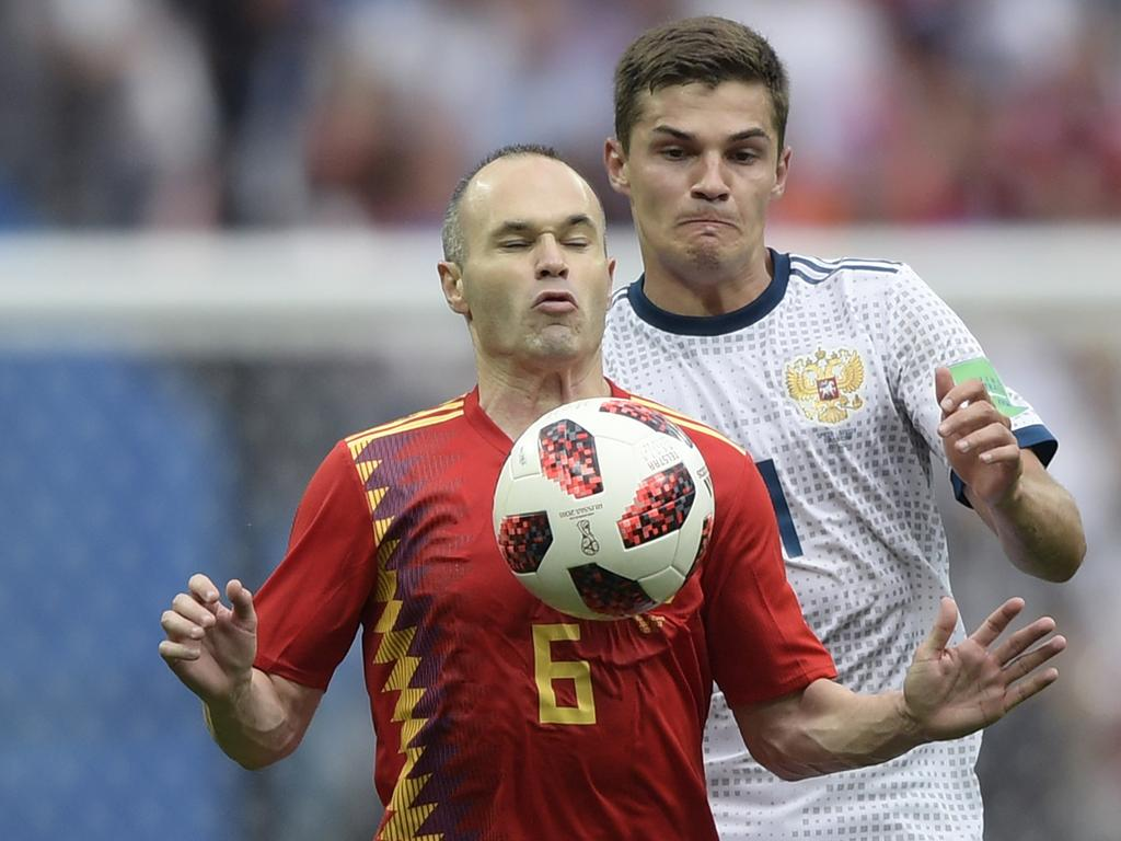 The FFA missed out on Spanish midfielder Andres Iniesta.