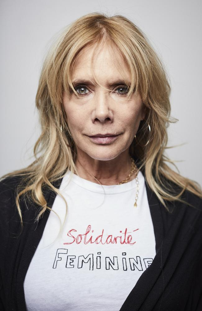 Rosanna Arquette says she'll attend the Harvey Weinstein trial to provide support for his alleged victims. Picture: AP