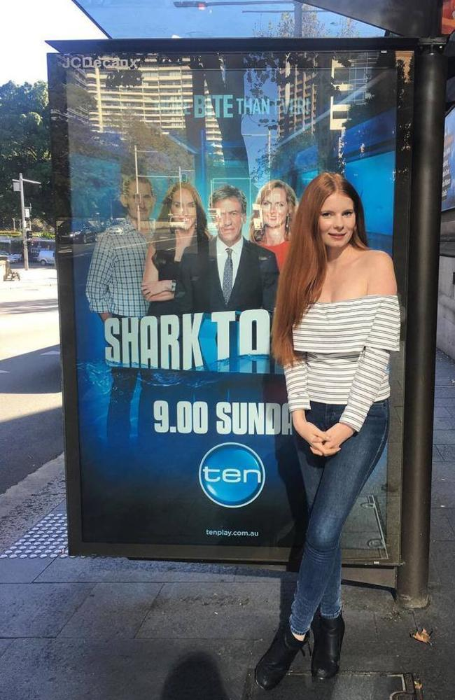 Ms Purkis appeared on Shark Tank in 2016. Picture: Twitter