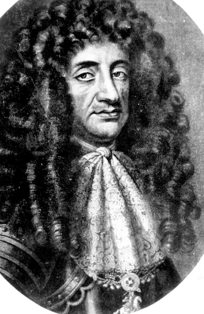 King Charles II of England.