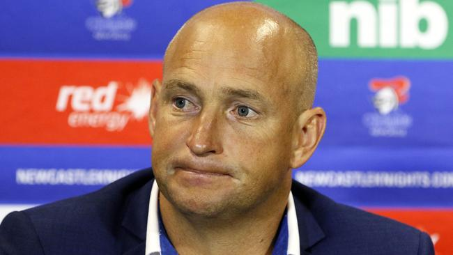 Nathan brown resigned from his Knights post with one game remaining in the 2019 season.