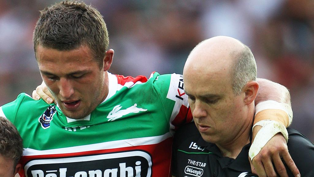 Sam Burgess Rabbitohs Doctor Andrew Mcdonald Named In Allegations Daily Telegraph