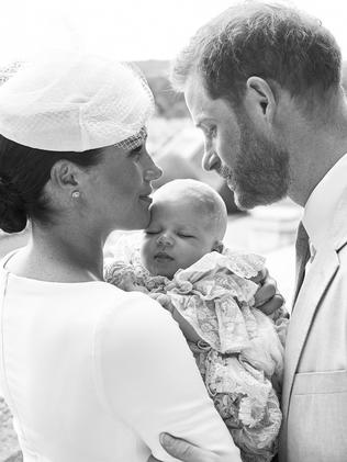 We've had precious few glimpses of baby Archie so far. Picture: Chris Allerton/ Sussex Royal/AFP