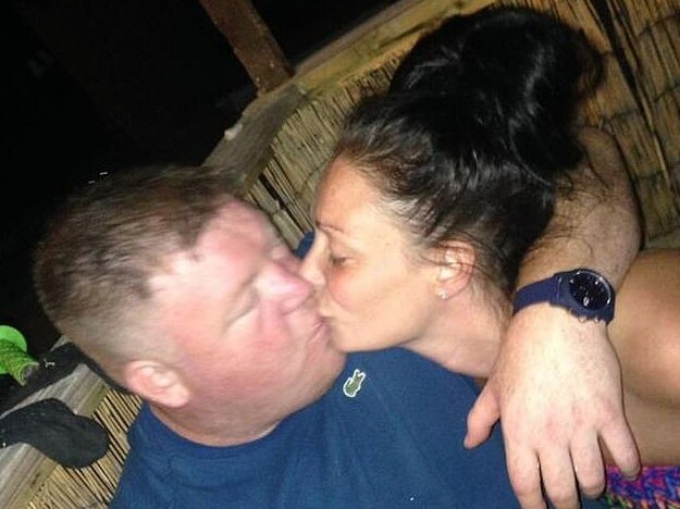 Kevin collapsed and died at their family home days before they were due to tie the knot. Picture: Supplied