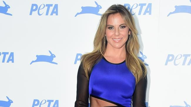 Key player ... Actress Kate del Castillo was entrusted by El Chapo to help arrange the meeting with Sean Penn. Picture: Frazer Harrison