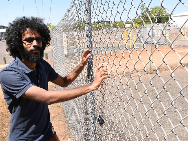 Darwin resident Iyngaranathan Selvaratnam said he watched on as the Tamil asylum seeker family at the heart of a deportation drama were whisked away by Australian Border Force officers to the Darwin airport tarmac to board another plane. Picture: Katrina Bridgeford