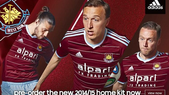 Adidas pays tribute to the Hammers' 1985-86 strip with this season's home kit.