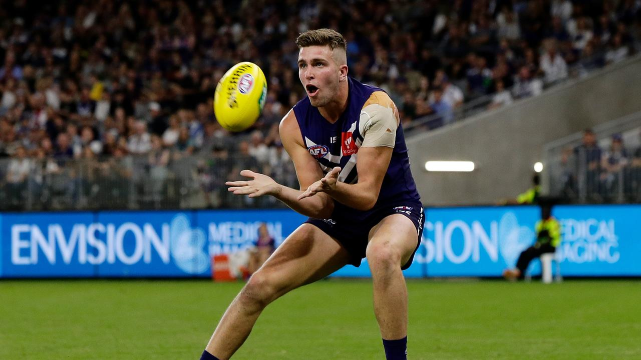 Luke Ryan of the Dockers is a fine choice in the third round for your draft in SuperCoach AFL