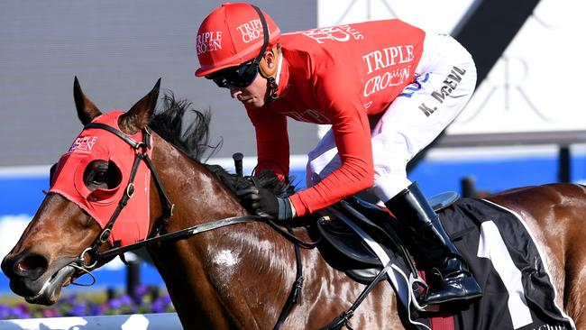 Jockey Kerrin McEvoy and Redzel are tipped to form a winning combination in The Everest on Saturday.