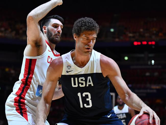 Brook Lopez, the real star of Team USA.