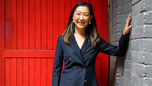 Stockbroker Julia Lee says the share market is a good place to build wealth. Picture: Ryan Osland