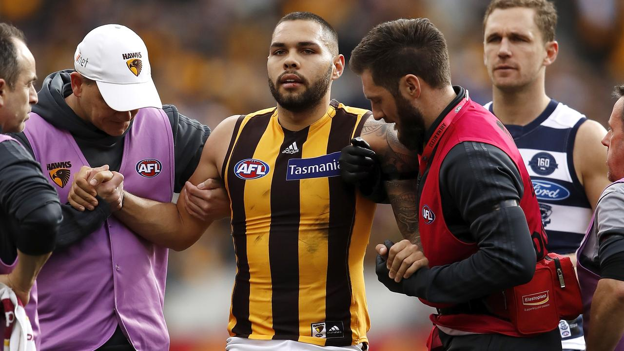 Hawthorn's Jarman Impey will require a knee reconstruction.