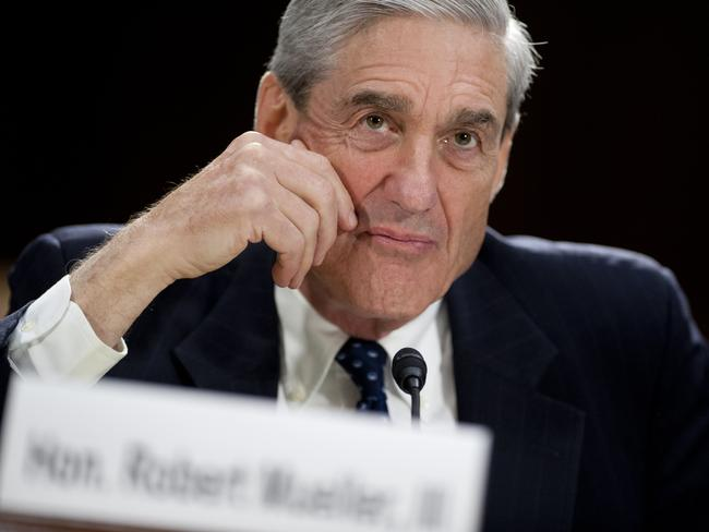 Robert Mueller who is leading the probe into Russia's alleged election interference. Picture: AFP