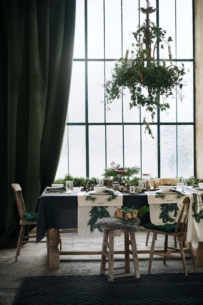 Five Christmas interiors trends from H&M's latest home collection