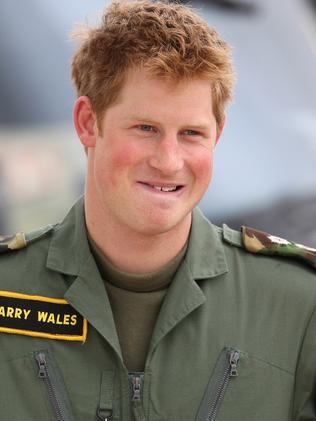 Prince Harry circa 2009. Picture: Getty