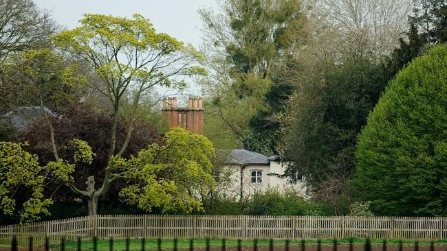 Frogmore Cottage is situated on the Frogmore Estate, itself part of Home Park, Windsor, in Berkshire.
