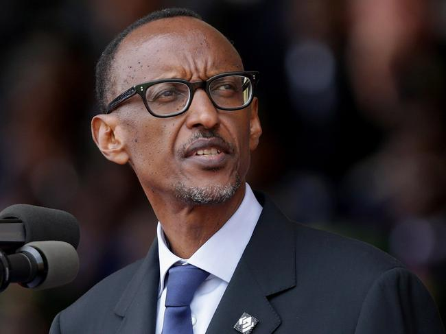 Paul Kagame wins Rwandan presidential election. Picture: Chip Somodevilla/Getty Images