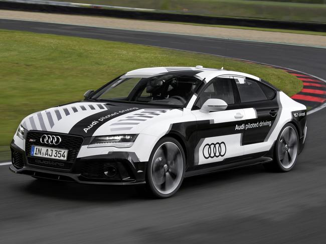 Driverless concept car, the Audi RS 7.