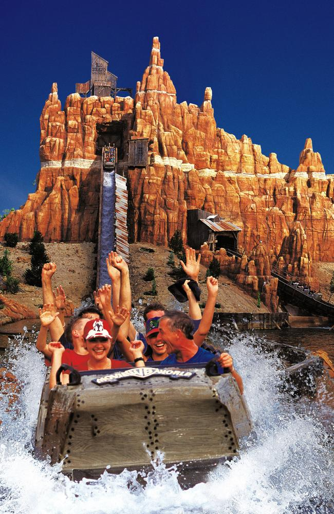 Who remembers Splash Mountain at Movie World?