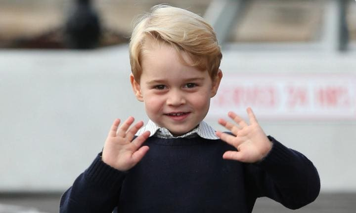 William and Kate announce school choice for Prince George