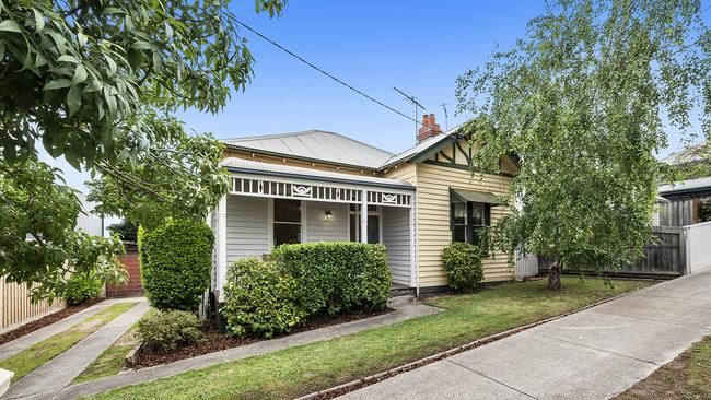 23 Huntingdon St, Newtown is for sale for $790,000-$860,000. The median house price in Newtown is $802,500.