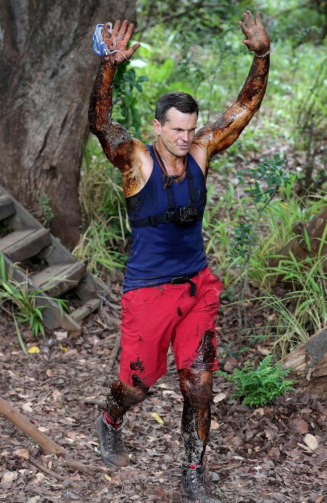 Looking lean and mean is Paul 'The Chief' Harragon on I'm A Celebrity ... Get Me Out Of Here! Picture: Nigel Wright / Network Ten / ITV Studios